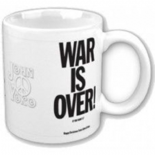 John Lennon: War Is Over - MUG (11oz) (Brand New In Box)